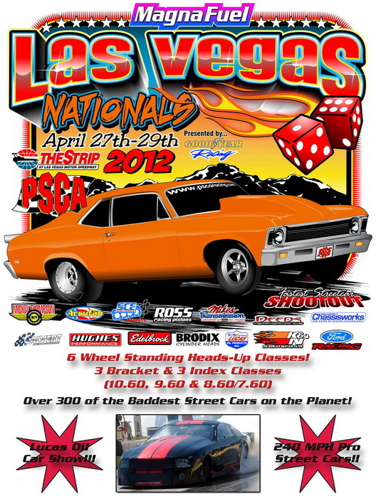 PSCA 11 Rain Out at Fontana Officially Canceled, Double Payout at Next Vegas Event For Fontana Entrants