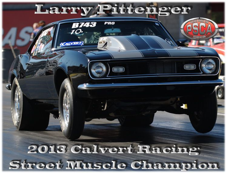 2013 Calvert Racing Street Muscle Points Championship Standings