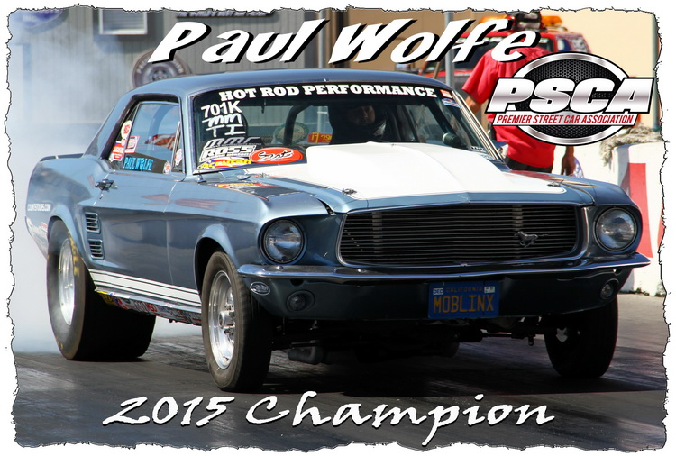 2015 Accufab Mustang Maddness Points Championship Standings