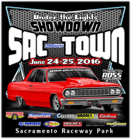 2016 Showndown at SacTown / June 24-25 / Race Info